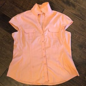 New York and Company cap Sleeve Top